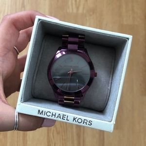 Michael Kors Watch - Plum